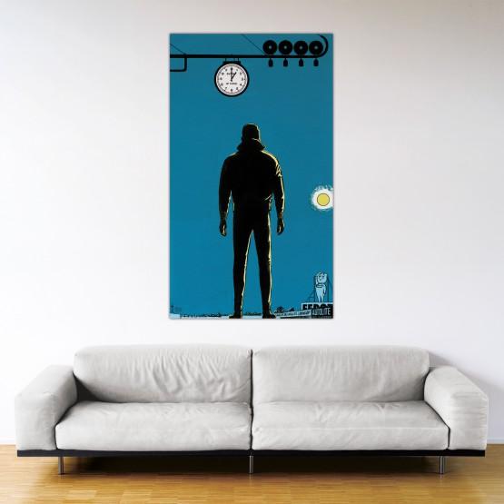Le fantôme des 24 Heures - Dibond sous plexiglas - Format: 175x100 cm