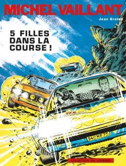 Michel Vaillant 19 Cover 5 Filles Dans La Course