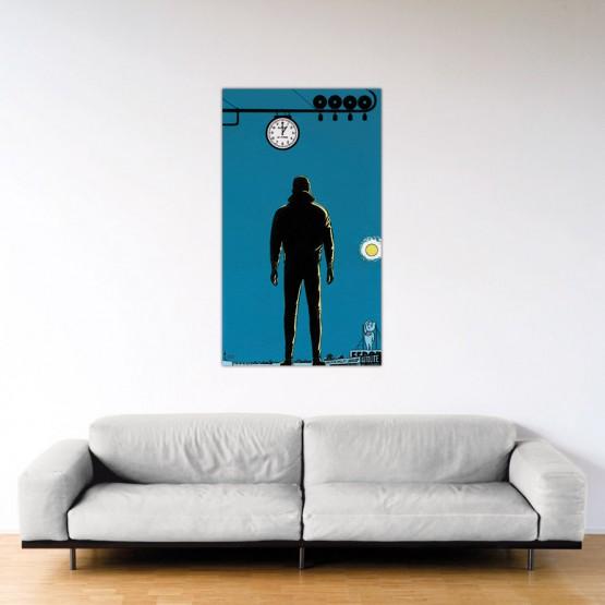 Le Fantôme des 24 Heures - Dibond sous plexiglas - Format: 80x140 cm