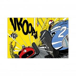 Victoire Au Nürburgring - Dibond sous Plexiglas