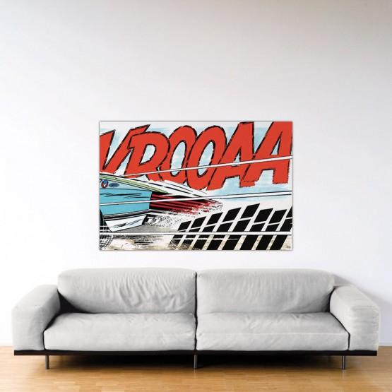 Cramponne-toi, Steve – Dibond sous Plexiglas – Format: 100x150 cm