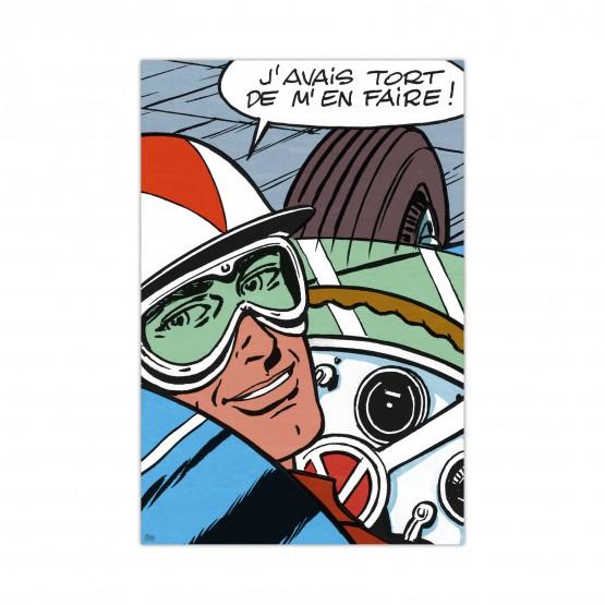 Michel Vaillant Art Strips 16