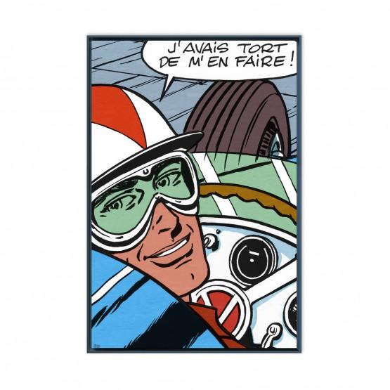 Michel Vaillant Art Strips 16 Javais Tort De Men Faire Usnoir