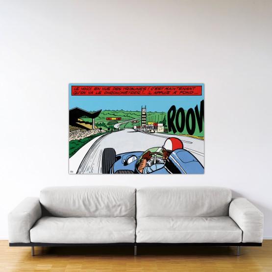 Francorchamps – Dibond sous plexiglas – Format: 100x150 cm