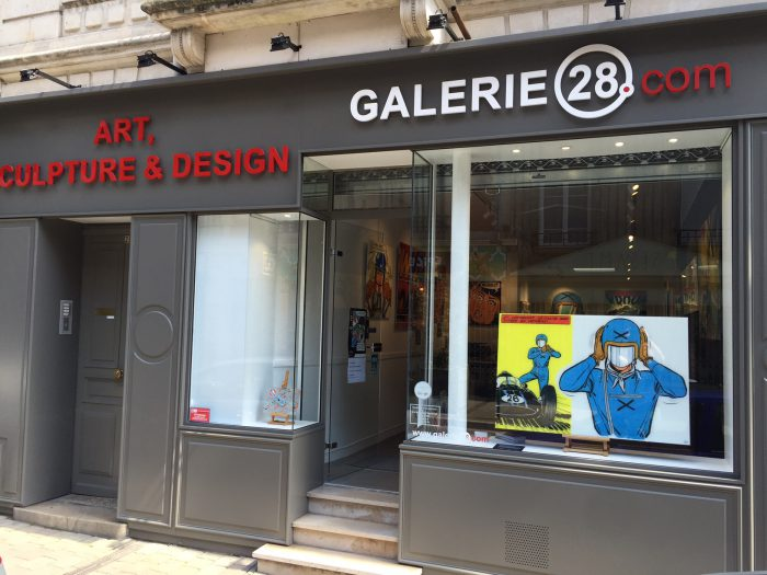 Michel Vaillant Art Strips | Exposition | Galerie 28.com à Reims