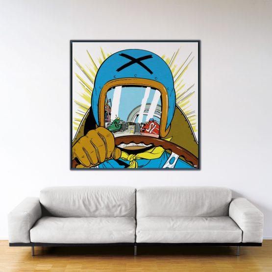 Michel Vaillant Art Strips 20 Le Pilote Sans Visage 140x140