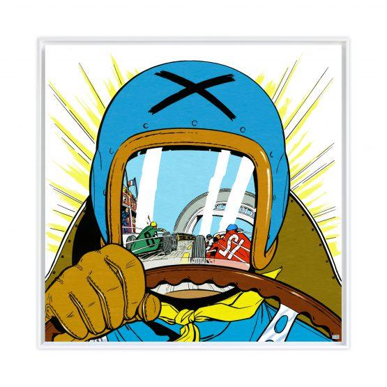 Michel Vaillant Art Strips 20 Le Pilote Sans Visage II Usblanc