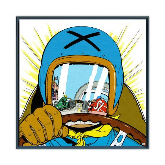Michel Vaillant Art Strips 20 Le Pilote Sans Visage II Usnoir