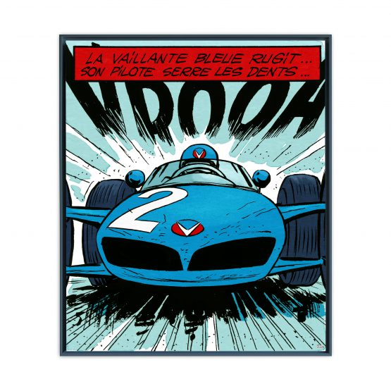 Michel Vaillant Art Strips 21 La Vaillante Bleue Usnoir