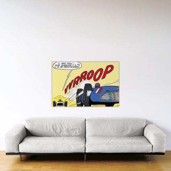 Indianapolis – Dibond sous plexiglas – Format: 80x120cm