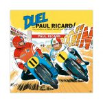 Michel Vaillant Art Strips 23 Duel Au Paul Ricard Plexi