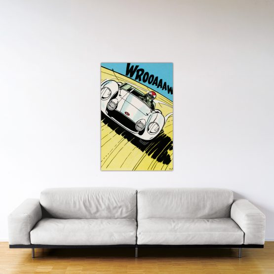 Michel Vaillant Art Strips 24 Montlhery 120x80