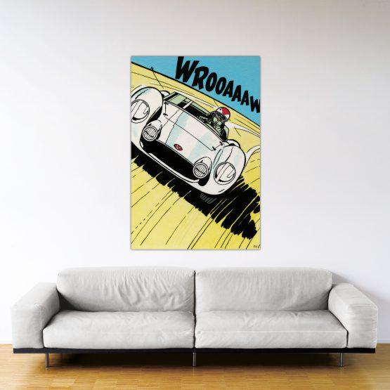 Michel Vaillant Art Strips 24 Montlhery 150x100