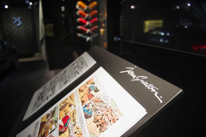 Michel Vaillant Art Strips | Exposition | DS World à Paris