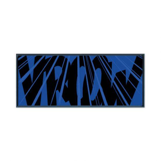 Cougar Vroow – Papier Fine Art en caisse américaine noire
