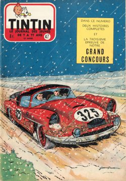 Couverture Tintin n°47 1957