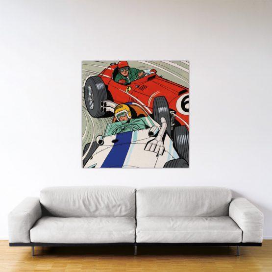Michel Vaillant Art Strips 30 Duel A Francorchamps 120x120