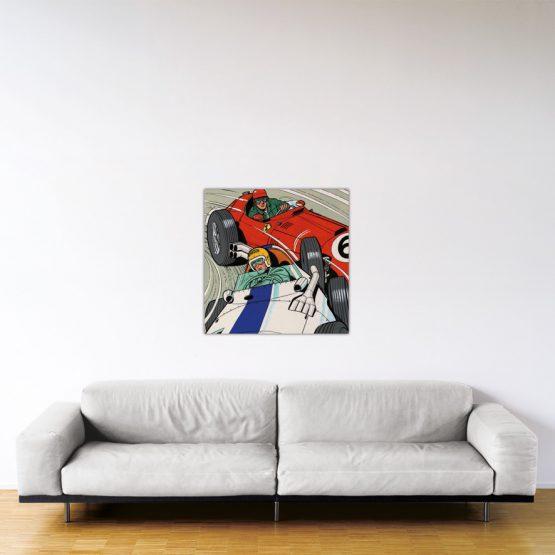 Michel Vaillant Art Strips 30 Duel A Francorchamps 80x80