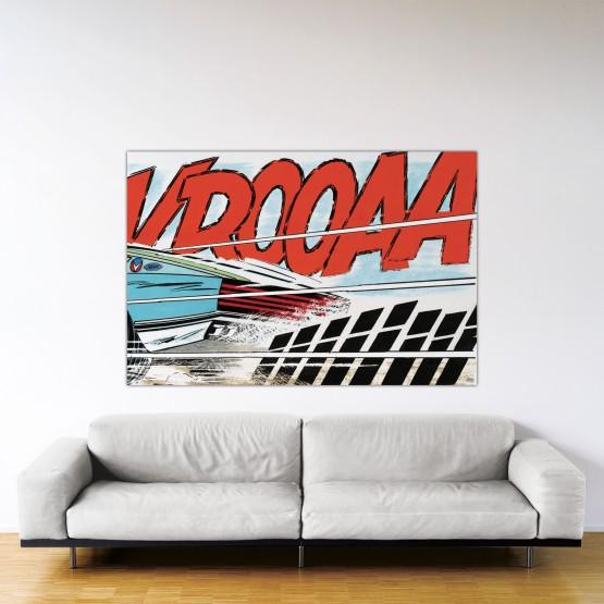 Cramponne-toi, Steve – Dibond sous Plexiglas – Format: 120x180 cm