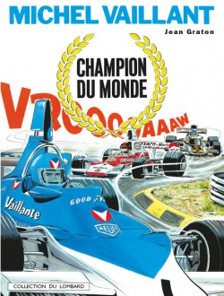 Michel Vaillant Cover 26 Champion Du Monde