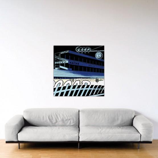 Le Mans Fantastique - Dibond sous plexiglas - 100x100 cm