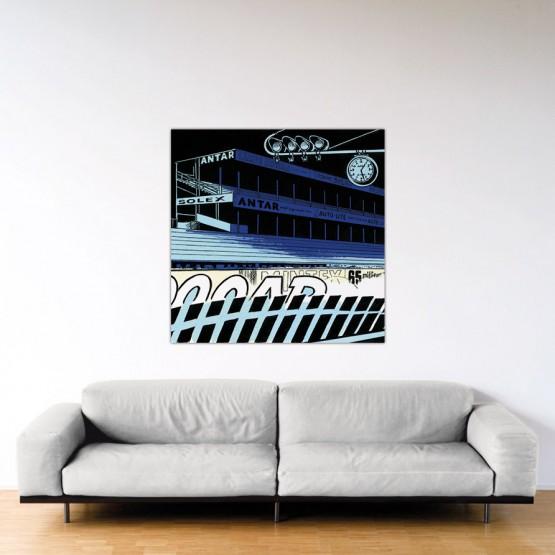 Le Mans Fantastique - Dibond sous plexiglas - 120x120 cm