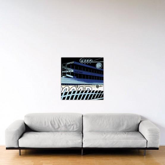 Le Mans Fantastique - Dibond sous plexiglas - 80x80 cm