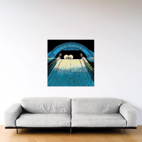 On Va l'Avoir - Dibond sous Plexiglas - Format: 100x100 cm
