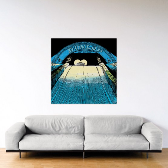 On Va l'Avoir - Dibond sous Plexiglas - Format: 120x120 cm