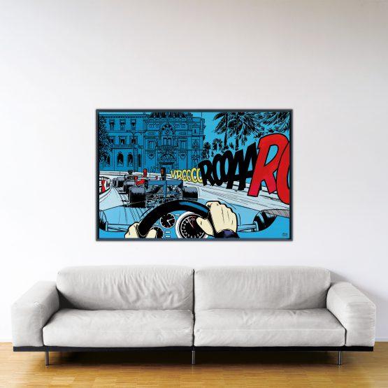 Casino – Papier Fine Art en caisse américaine noire – Format: 100x150 cm