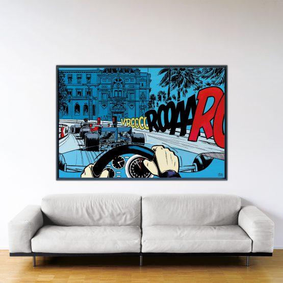 Casino – Papier Fine Art en caisse américaine noire – Format: 120x180 cm