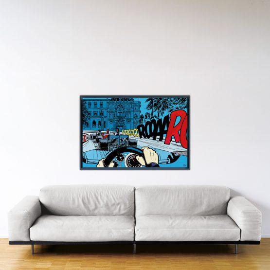 Casino – Papier Fine Art en caisse américaine noire – Format: 80x120 cm