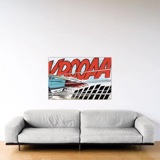 Cramponne-toi, Steve – Dibond sous Plexiglas – Format: 80×120 cm