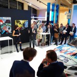 Michel Vaillant Art Strips | Exposition | BMW Brand Store Brussels
