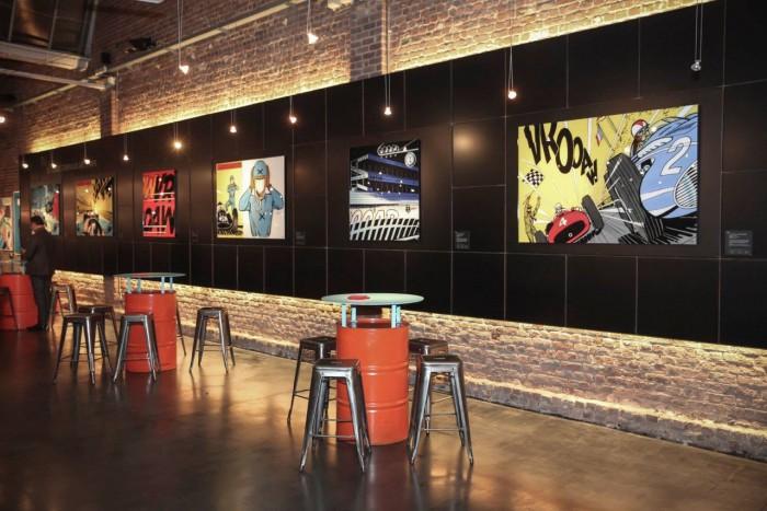 Michel Vaillant Art Strips   Exposition   CLUB DES V A BRUXELLES
