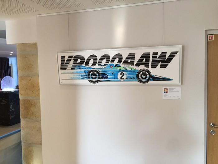 Michel Vaillant Art Strips | Exposition | Hôtel de Silhouette à Biarritz