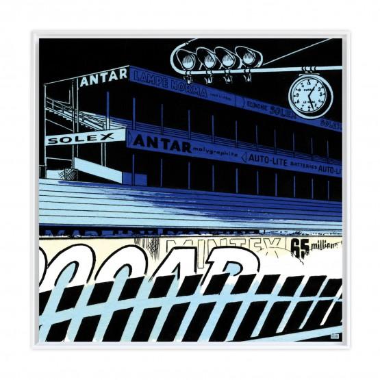 Le Mans Fantastique - Papier Fine Art en caisse américaine blanche