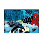 Casino - Papier Fine Art en caisse américaine noire