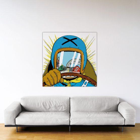 Michel Vaillant Art Strips 20 Le Pilote Sans Visage 120x120