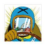Michel Vaillant Art Strips 20 Le Pilote Sans Visage II Plexi