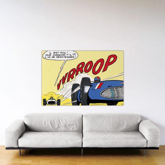 Indianapolis – Dibond sous plexiglas – Format: 100x150cm