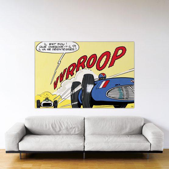 Indianapolis – Dibond sous plexiglas – Format: 120x180cm