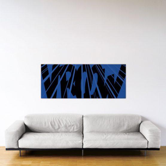 Cougar Vroow - Dibond sous plexiglas - Format: 60x150cm