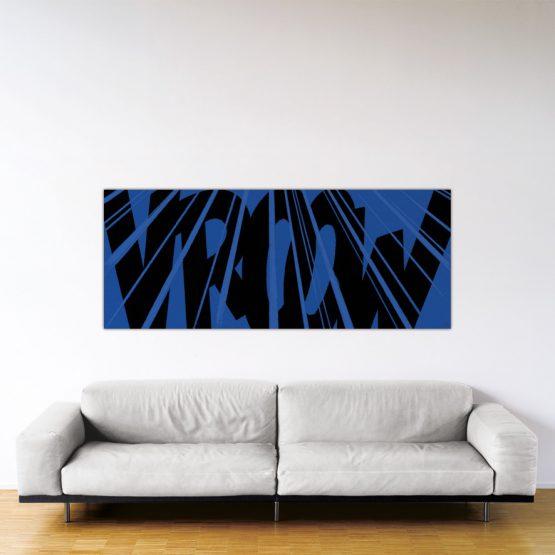 Cougar Vroow - Dibond sous plexiglas - Format: 80x200cm