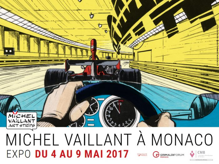 Michel Vaillant Art Strips | Exposition | Grimaldi Forum à Monaco