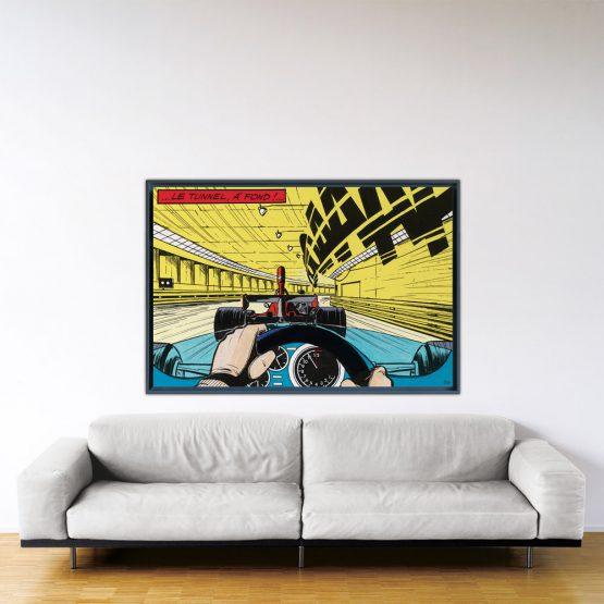 À fond - Papier Fine Art en caisse américaine noire - 100x150 cm