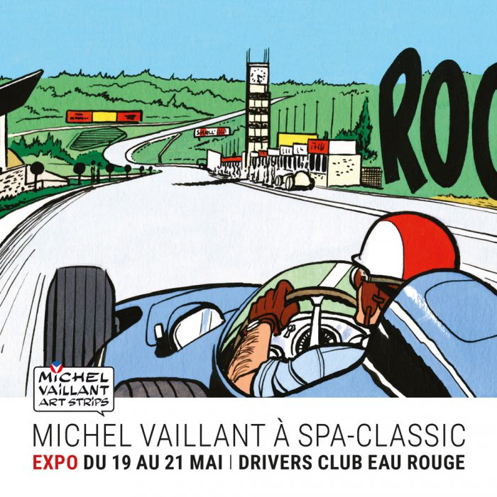 Michel Vaillant Art Strips | Exposition | Spa-Classic à Francorchamps