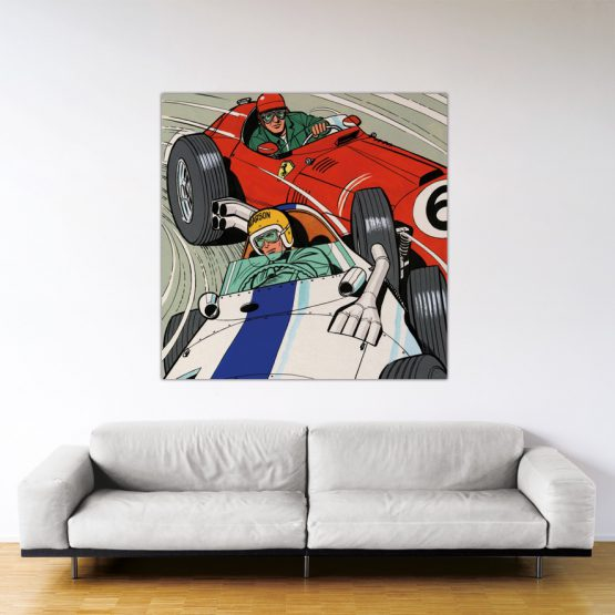 Michel Vaillant Art Strips 30 Duel A Francorchamps 140x140
