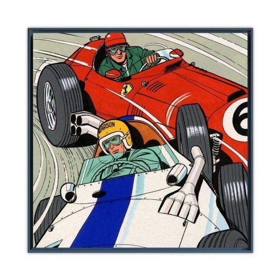 Michel Vaillant Art Strips
