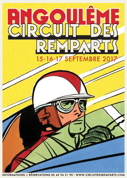 Michel Vaillant Art Strips | Exposition | Circuit des Remparts d'Angoulème